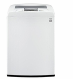 "WT1150cw LG 27"" 4.5 Cu. Ft. Capacity Top Load Washer with ColdWash Option and TrueBalance Anti-Vibration System Technology - White"