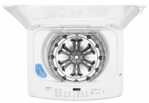 WT1501CW LG 4.5 cu. ft. High-Efficiency Front Control Top Load Washer - White