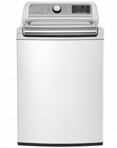 "WT7500CW LG 27"" 5.2 cu. ft. Mega Capacity Top Load Washer with 950 rpm and StainCare - White"