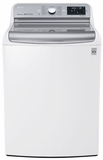 WT7700HWA LG 5.7 Cu. Ft. MEGA Capacity Top Load Washer with TurboWash Technology - White