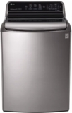 "WT7710HVA LG 29"" 5.7 Cu. Ft. Top Load Washer with TurboWash Technology and 14 Wash Programs - Graphite Steel"
