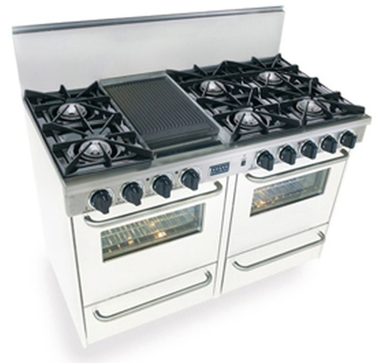 Gas Range Double Oven Lowes White Double Oven Gas Range At Us Appliance