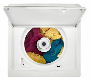 """WTW4616FW Whirlpool 28"""" Top Load Washer with 3.5 cu. ft. Capacity and Deep Water Option - White"""