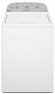 WTW4815EW Whirlpool 3.5 cu. ft. High-Efficiency Top Load Washer with HE Agitator & Fabric Softener Cap - White