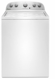 "WTW4816FW Whirlpool 28"" Top Load Washer with 3.5 cu. ft. Capacity and Deep Water Option - White"