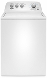 "WTW4850HW Whirlpool 28"" Top Load  3.9 cu. ft Washer with Water Level Selection and Smooth Impeller - White"