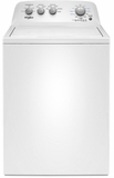 "WTW4855HW Whirlpool 28"" Top Load  3.8 cu. ft Washer with Water Level Selection and Dual Action Agitator - White"
