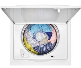 """WTW4950HW Whirlpool 28"""" Top Load  3.9 cu. ft Washer with Water Level Selection and Smooth Impeller - White"""