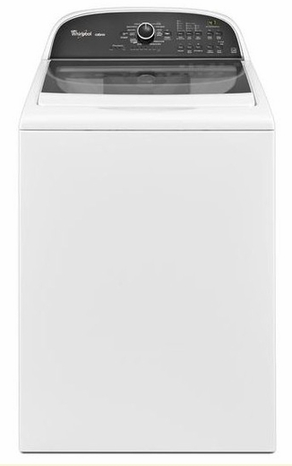 WTW5800BW Whirlpool  Cabrio 3.8 Cu Ft HE Top Load Washer - White