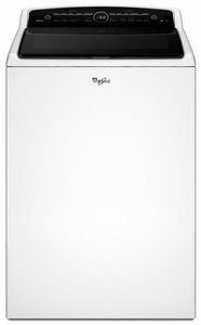 WTW8000DW Whirlpool 5.3 Cu. Ft. High-Efficiency Top Load Washer with Precision Dispense - White