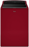 WTW8500DR Whirlpool 5.3 cu. ft. Cabrio High-Efficiency Top Load Washer with Precision Dispense - Cranberry Red