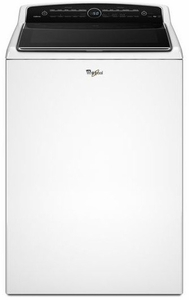 WTW8500DW Whirlpool 5.3 cu. ft. Cabrio High-Efficiency Top Load Washer with Precision Dispense - White