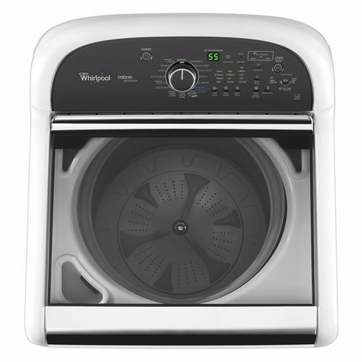 wtw8900bc whirlpool 48 cu ft cabrio platinum he top load washer with sanitary cycle chrome shadow