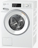 "WWF060WCS Miele 24"" Front Load Washing Machine with Honey Comb Drum and Automatic Load Control - White"
