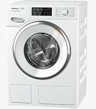 "WWH660WCS Miele 24"" Front Load Washing Machine with Honey Comb Drum and TwinDos - White"