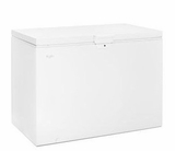 "WZC3115DW 48"" Whirlpool 15 Cu. Ft. Chest Freezer with Manual Defrost and Key Lock - White"
