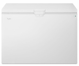 "WZC5415DW 48"" Whirlpool 15 Cu. Ft. Chest Freezer with Manual Defrost and Interior Light - White"