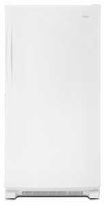 WZF79R20DW Whirlpool 20 cu. ft. Upright Freezer with Temperature Alarm - White