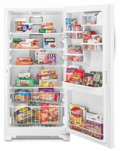 wzf79r20dw 6 whirlpool 20 cu ft upright freezer with temperature alarm white  at edmiracle.co