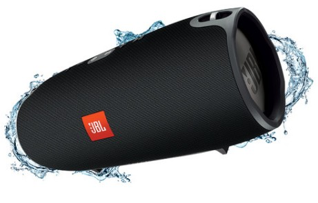 XTREMEBLK JBL Splashproof Portable Speaker with Bluetooth 4.1 and Dual USB Charging Ports - Black