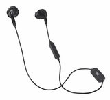 INSPIRE500 JBL Wireless Bud Headphone with Twist-Lock Technology Fit and Call Control Microphone - Black