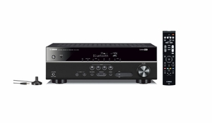 YHT4920UBL Yamaha 5.1 Ch Home Theater System with Blue Tooth Streaming