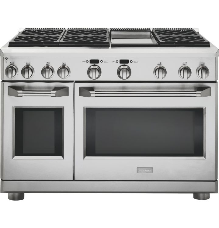 monogram dual fuel pro style ran burners griddle natural gas stainless steel 6 burner range with convection oven vulcan v36 commercial rangetop gridd