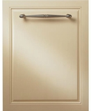 "ZDT975SIJII Monogram 24"" Fully Integrated Dishwasher with 5 Wash Settings and Hard Food Disposer - Custom Panel"