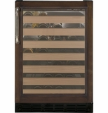 "ZDWI240HII GE Monogram 24"" Wine Reserve - Custom Panel"