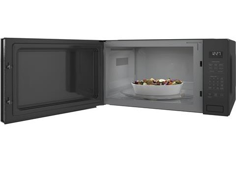 "ZEB1227SLSS Monogram 24"" 2.2 Cu. Ft. Built-In Microwave Oven with Sensor Cooking Controls and Extra Large 16.5"" Turntable - Stainless Steel"