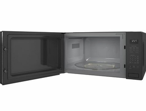 """ZEB1227SLSS Monogram 24"""" 2.2 Cu. Ft. Built-In Microwave Oven with Sensor Cooking Controls and Extra Large 16.5"""" Turntable - Stainless Steel"""
