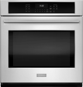 """ZEK7000SHSS Monogram 27"""" Single Electric Wall Oven with True European Convection - Stainless Steel"""