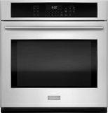"ZEK7000SHSS Monogram 27"" Single Electric Wall Oven with True European Convection - Stainless Steel"