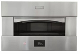 "ZEP30SKSS Monogram 30"" Built-in Single Pizza Oven with Electric Heating Zones and Touch LCD Controls - Stainless Steel"