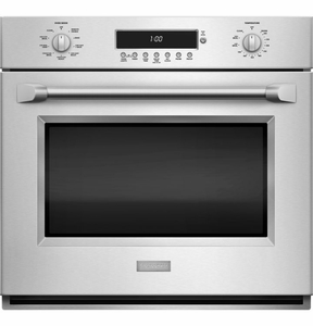 """ZET1PHSS Monogram 30"""" Single Electric Built-in Wall Oven with True European Convection with Direct Air - Stainless Steel"""