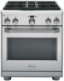 "ZGP304LRSS GE Monogram 30"" All Gas Professional Range with 4 Burners (Liquid Propane) - Stainless Steel"