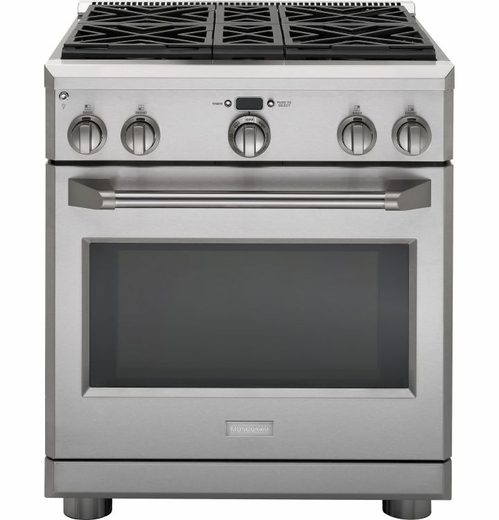 "ZGP304NRSS Monogram 30"" Natural Gas Professional Range with 4 Burners - Stainless Steel"