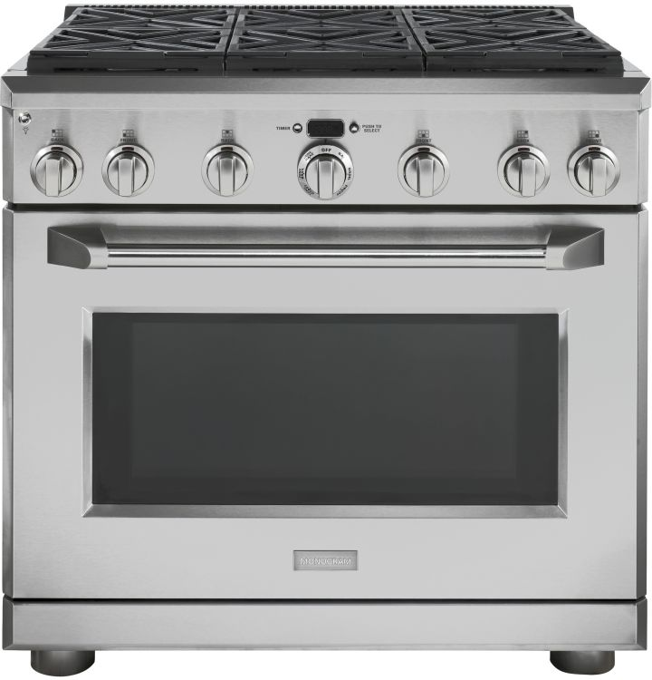monogram gas pro style ran burners natural stainless steel stoves india range hood sears on sale