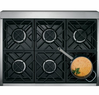 Gas Pro Style Range With 6 Burners