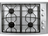 """ZGU384NSMSS Monogram 30"""" Gas Cooktop - Natural Gas - Stainless Steel"""