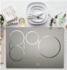 "ZHU30RSJSS Monogram 30"" Induction Cooktop with 4 Cooking Zones 3700 Watts Slide Touch Controls - Silver"