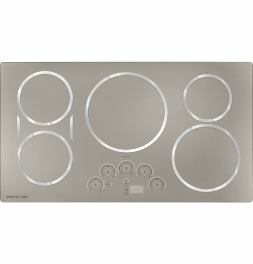 "ZHU36RSJSS Monogram 36"" Induction Cooktop - Stainless Steel"