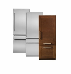 """ZIC30GNHII Monogram 30"""" Fully Integrated Customizable Refrigerator with Solid Door (for Single or Dual Installation) - Custom Panel"""