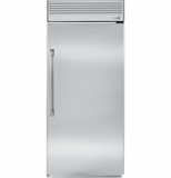 "ZIFP360NHRH GE Monogram 36"" Professional Built-In All Freezer - Right Hinge - Stainless Steel"