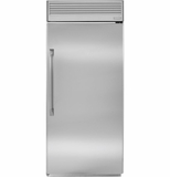 "ZIRP360NHRH GE Monogram 36"" Professional Built-In All Refrigerator - Right Hinge - Stainless Steel"