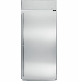 "ZIRS360NHRH GE Monogram 36"" Built-In All Refrigerator - Right Hinge - Stainless Steel"