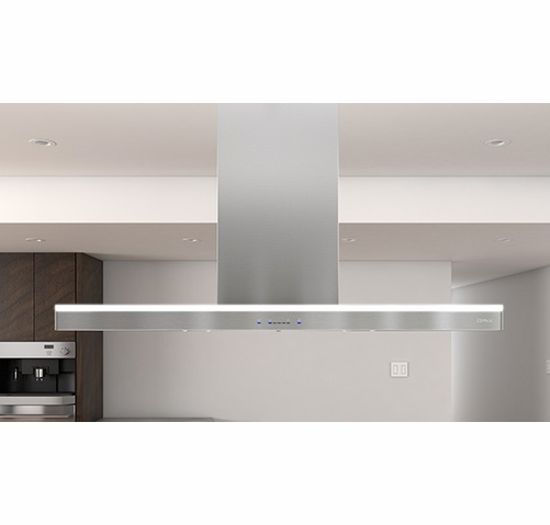 Zlcm90as Zephyr Luce 36 Island Mount Range Hood With Icon Touch