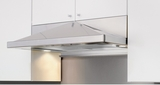 "ZPY-E36AS Zephyr Pyramid 36"" Under Cabinet Designer Hood with Pyramid Shaped Body - 400 CFM Blower - Stainless Steel"