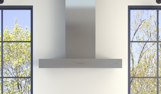 """ZRO-E30CS Zephyr Essentials Collection 30"""" Roma Wall Hood - Stainless Steel"""