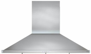 "ZSP-E48BS Zephyr 48"" Essentials Europa Series Siena Pro Wall Mount Range Hood with 1200 CFM and ICON Touch Controls - Stainless Steel"